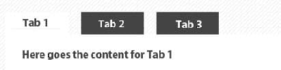 tab design for web apps