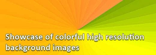 Showcase of colorful high resolution background images