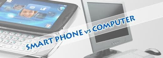 The Smart Phone vs the Computer