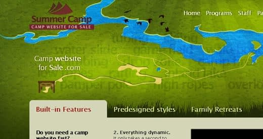 39-camp-website-for-sale